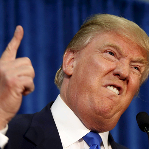 Trump anger